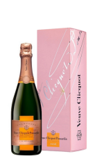 Champagne Rosé con astuccio Veuve Clicquot