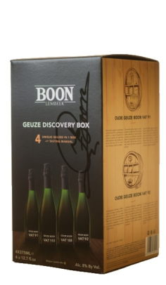 Birra Geuze Discovery Box X 4 Limited Edition Boon