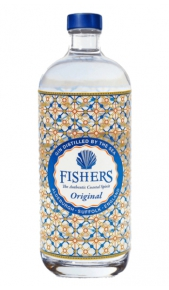 Gin London Dry Fishers 70 cl Adnams Southwold