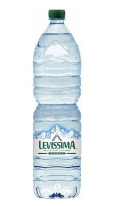 Acqua Levissima Naturale 1.5 l -Confezione 6 pz Levissima