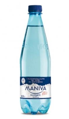 Acqua Maniva Frizzante Prestige 0.50 l -Confezione 24 pz Maniva