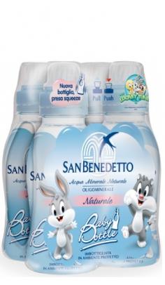 Acqua San Benedetto Baby 0,25 l -Confezione da 24 pz San Benedetto