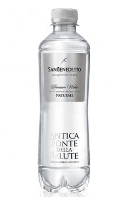 Acqua San Benedetto Naturale Millenium 0.40 l -Confezione 24 pz San Benedetto