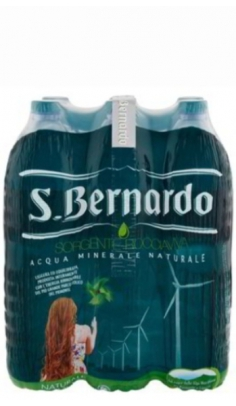 Acqua San Bernardo Naturale 1,5 lt - Confezione 6 pz San Bernardo