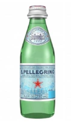 Acqua San Pellegrino 0,25 l -Confezione 6 pz San Pellegrino
