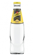 Tonica Schweppes Zero 0,20 l -Confezione 4 pz San Benedetto