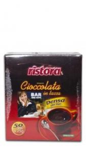 Cioccolato Ristora Monodose 50 Buste Ristora