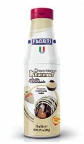 Kroccant Fabbri Choco Bianco glassa croccante 780gr Fabbri