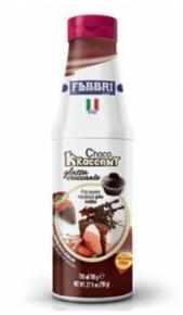 Kroccant Fabbri Choco glassa croccante 780gr Fabbri