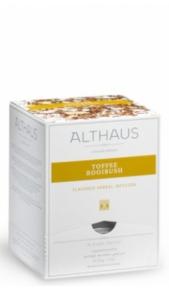 Infuso di ebe Toffee Rooibush Althaus x 15 Althaus