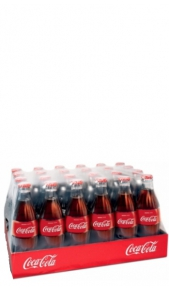Coca Cola Vetro 0,33 l - Confezione 24 pz Coca Cola