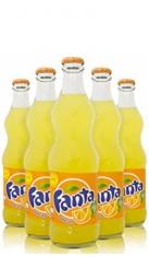 Fanta Vetro 0,33 l - Confezione 24 pz Coca Cola