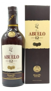 Rum Abuelo 12 Anos 0.70 Ron Abuelo