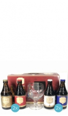 Chimay Quadrilogie 33 l 6 bt +1 bicchiere Chimay