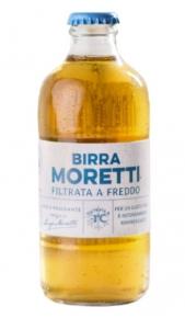 Birra Moretti Filtrata a Freddo 0,3 l Moretti