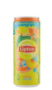 The Pesca Lipton 0,33 cl Lattina x 24 Lipton