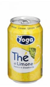 The Yotea Limone  0,33 cl Lattina x 12 Conserve italia