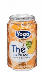 The Yotea Pesca 0,33 cl Lattina x 12 Conserve italia