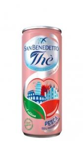 The San Bendetto Lattina 0.33  Pesca x 6 San Benedetto