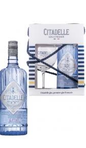Confezione Regalo Gin Cittadelle 1 bott da 0,70 + 1 bicchiere Citadelle
