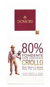 Criollo Domori Fondente 80% gr. 50 Domori