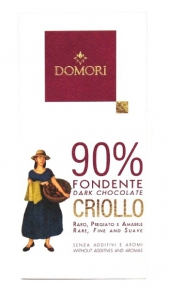 Criollo Domori Fondente 90% gr. 50 Domori