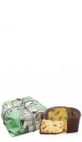 Panettone Lazzaroni Pistacchio Sal. 750 gr chiostro di saronno