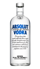 Vodka Absolut 1 lt Absolut