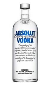 Absolut Vodka 1 lt online
