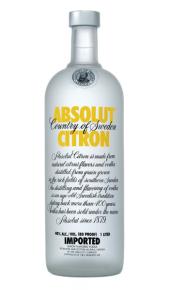 Absolut Vodka Citron 1 lt online