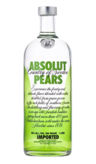 Vodka Absolut Pears 1 lt Absolut
