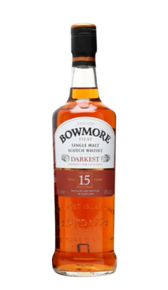 Whisky Bowmore Darkest 15 anni online