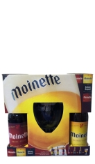 Confezione regalo birre Moinette 6 x 0,33 lt + 1 Bicchiere online