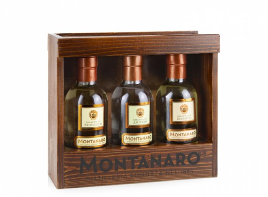 Grappa Montanaro 3 bottiglie 20 cl Montanaro