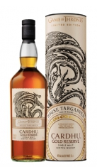 "Single Malt Scotch Whisky ""Game of Thrones House Targaryen, Gold Reserve"" - Cardhu (0.7l, astuccio) Cardhu"