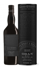 "Single Malt Scotch Whisky ""Game of Thrones The Night's Watch, Bay Reserve"" - Oban (0.7l, astuccio) Oban"