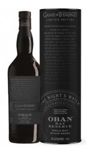 "Single Malt Scotch Whisky ""Game of Thrones The Night's Watch, Bay Reserve"" - Oban (0.7l, astuccio) Oban"