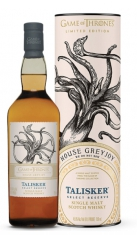 "Single Malt Scotch Whisky ""Game of Thrones House Greyjoy, Select Reserve"" - Talisker (0.7l, astuccio) Talisker"