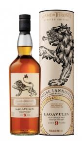 "Islay Single Malt Scotch Whisky ""Game of Thrones House Lannister"" 9 years old - Lagavulin (0.7l, astuccio) Lagavulin"