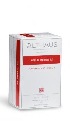 Infuso di frutta Wild Berries Althaus x 20 Althaus