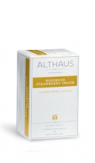 Infuso di frutta Rooibush Strawberry Cream Althaus x 20 Althaus