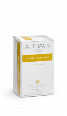 Infuso di erbe Ginseng Balance Althaus x 20 Althaus