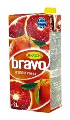 Succo Bravo Arancia Rossa 2lt Tetrapack Rauch