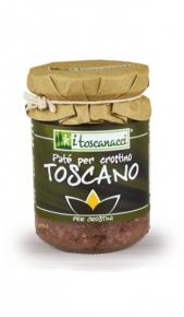 I Toscanacci Patè Crostino Toscano 130gr Le Bontà