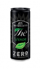 The San Benedetto Zero Verde 0,33 cl lattina x 6 San Benedetto