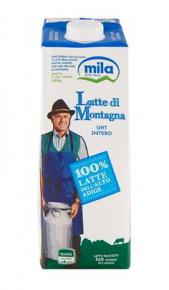 Latte Intero MILA 1 lt Mila Südtirol