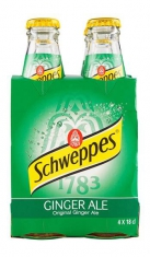 Ginger Ale Schweppes 1/5 VP X 4 San Benedetto