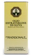 Olio Ex. Vergine latta 5lt Oleificio di Moniga