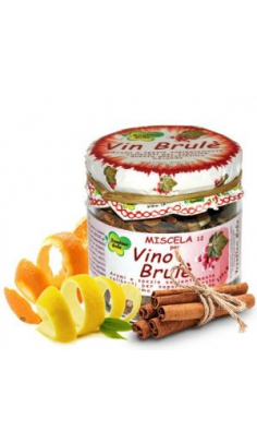 Miscela Vino Brulè 120gr Trentino Erbe