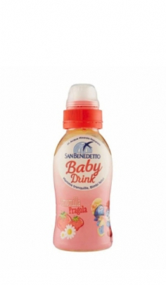 BABY DRINK S.Benedetto Camomilla e Fragola 0,25 cl pet x 24 San Benedetto